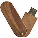 Деревянный USB флеш-накопитель, 32ГБ, коричневый цвет (0201-2 32ГБ), фото 4