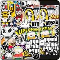 Чехол EndorPhone на Xiaomi Mi Pad 2 Popular logos (4023u-313)