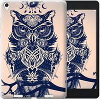 Чехол EndorPhone на Xiaomi Mi Pad Узорчатая сова (4000u-361)