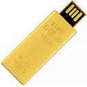 USB флеш-накопитель Золотой слиток мини, 4ГБ, золотистый цвет (0326 4ГБ), фото 2