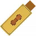 USB флеш-накопитель Золотой слиток мини, 4ГБ, золотистый цвет (0326 4ГБ), фото 4