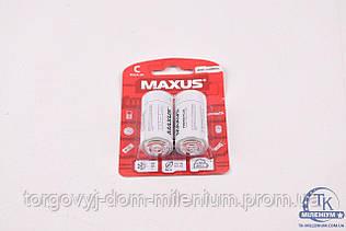 1034 MAXUS C/R14 2шт/уп Солевая батарейка 1034