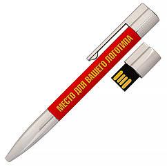 USB флеш-накопитель Ручка, 4ГБ, красный цвет (1133-4 4ГБ)