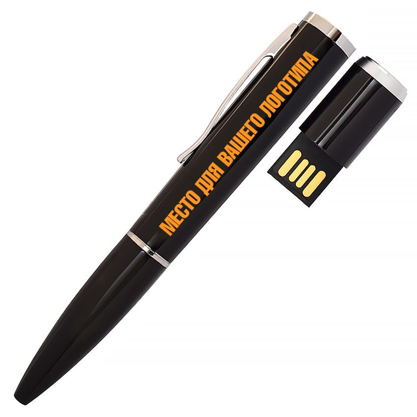 USB флеш-накопитель Ручка, 16ГБ, черный цвет (1134-2 16ГБ)