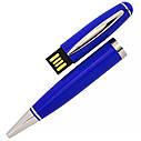 USB флеш-накопитель в виде Ручки, 32ГБ, синий цвет (1122-3 32ГБ), фото 2
