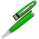 USB флеш-накопитель в виде Ручки, 64ГБ, зеленый цвет (1122-5 64ГБ), фото 2