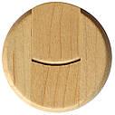 Деревянный USB флеш-накопитель, 4ГБ, бежевый цвет (0247 4ГБ), фото 3
