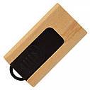 Деревянный USB флеш-накопитель, 32ГБ, бежевый цвет (0252 32ГБ), фото 3