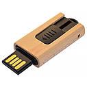 Деревянный USB флеш-накопитель, 64ГБ, бежевый цвет (0252 64ГБ), фото 5