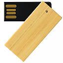 Деревянный USB флеш-накопитель, 32ГБ, бежевый цвет (0253-1 32ГБ), фото 5