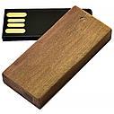 Деревянный USB флеш-накопитель, 4ГБ, коричневый цвет (0253-2 4ГБ), фото 2