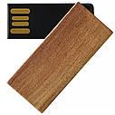 Деревянный USB флеш-накопитель, 64ГБ, коричневый цвет (0253-2 64ГБ), фото 5