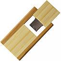 Деревянный USB флеш-накопитель, 32ГБ, бежевый цвет (0212-1 32ГБ), фото 4