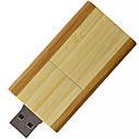 Деревянный USB флеш-накопитель, 32ГБ, бежевый цвет (0212-1 32ГБ), фото 5