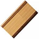 Деревянный USB флеш-накопитель, 4ГБ, коричневый цвет (0212-2 4ГБ), фото 3