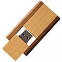 Деревянный USB флеш-накопитель, 4ГБ, коричневый цвет (0212-2 4ГБ), фото 4