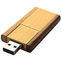 Деревянный USB флеш-накопитель, 32ГБ, коричневый цвет (0212-2 32ГБ), фото 2