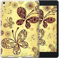 Чехол EndorPhone на Xiaomi Mi Pad Красивые бабочки (4170u-361)