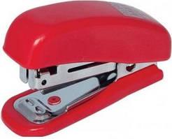 Степлер BUROMAX №10 Міні пластиковий, червоний