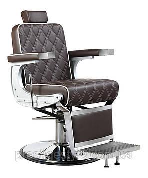 Кресло мужское парикмахерское Barber Валенсия люкс