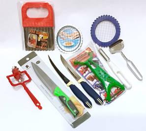 Кухонные ножи, ножницы, рыбочистки, овощерезки