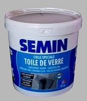 Клей для стеклохолста влагостойкий SEMIN COLLE TDV. Франция 10кг.