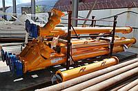 Шнековий погрузчик (питатель) діаметром 133 см та довжиною 4 м