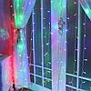Гирлянда Штора Водопад 3х2 м 480 LED 8 режимов соединяемая, фото 2