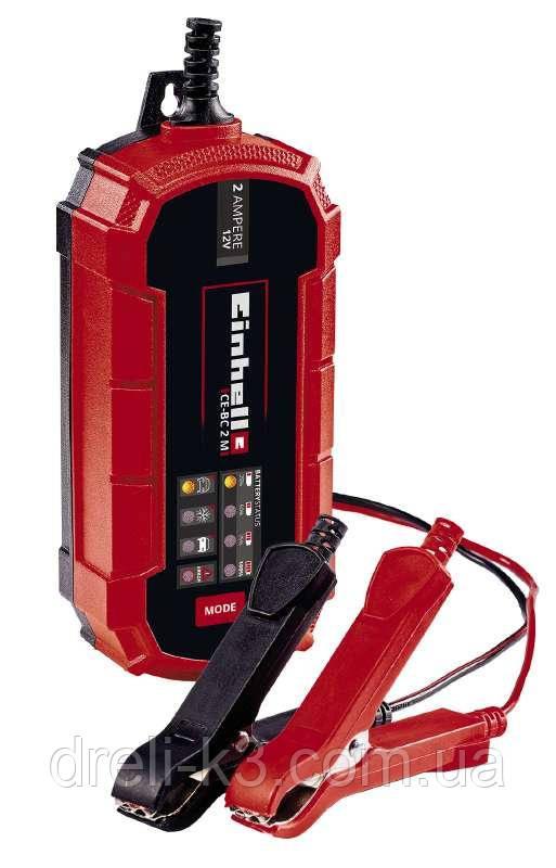 Інтелектуальний зарядний пристрій Einhell CE-BC 2 M
