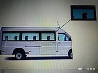 Скло бокове Sprinter ,VW LT 35 (95-06) Передній салон праве (панорама) 780 всі бази