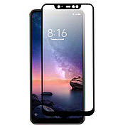 Защитное стекло Full cover 2.5D Premium Xiaomi Redmi Note 6 Black