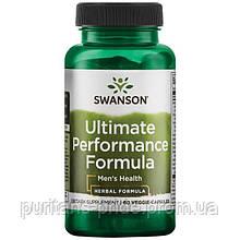 Для чоловічого здоров'я, Swanson ultimate performance formula 60 capsules