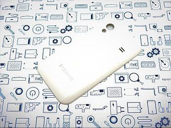 Задняя крышка Samsung GT-S5830i белая Сервисный оригинал с разборки