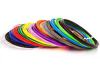 Набор PLA пластика Filament для 3д Ручки  45 метров (9 цветов по 5 метров) 1,75 мм