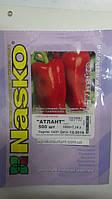 Насіння перцю солодкого Атлант 500 насіння Nasko