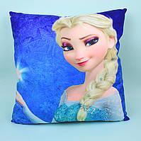 Фроузен подушка детская декоративная размер 38*38 см тм Копиця