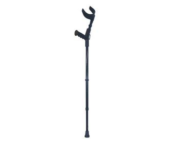 Костыль алюминиевый локтевой с нераздвижной ручкой (с устройством противоскольжения) НТ-02-006