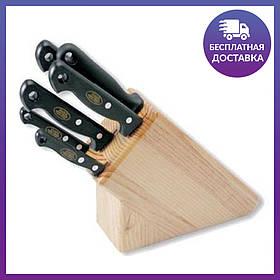 Нaбор ножей MAM, 5шт., светлое дерево, №420