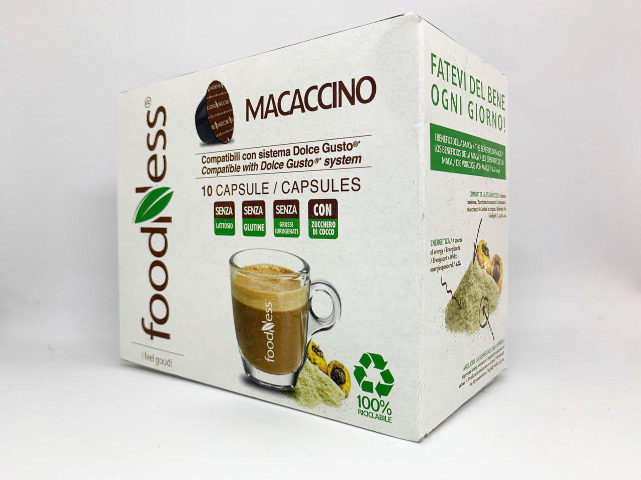 """Кофе в капсулах  """"Маккачіно"""" DOLCEGUSTО 1шт/14г (1уп/10шт) Кофе в капсулах Розница ОПТ"""