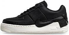 Мужские кроссовки Nike Air Force 1 Jester XX PRM Black/Black – Sail AV3515-001, Найк Аир Форс