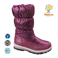 Зимние детские дутики Том М, с 33 по 38 размер, 6 пар