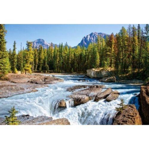 """Пазлы """"Горная река, Athabasca river, Jasper National Park, Canada"""", 1500 эл С-150762"""