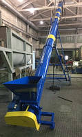Шнековий погрузчик/ транспортер діаметром 110 см та довжиною 10 м