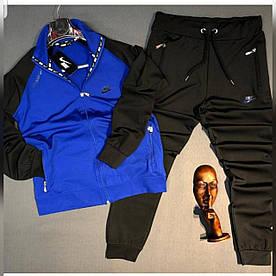 Мужской костюм  Nike 2020. Ткань трехнить на флисе. Размеры с м л хл ххл