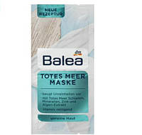 Маска для лица Balea Totes Meer Maske очищающая 2x8 мл, фото 1