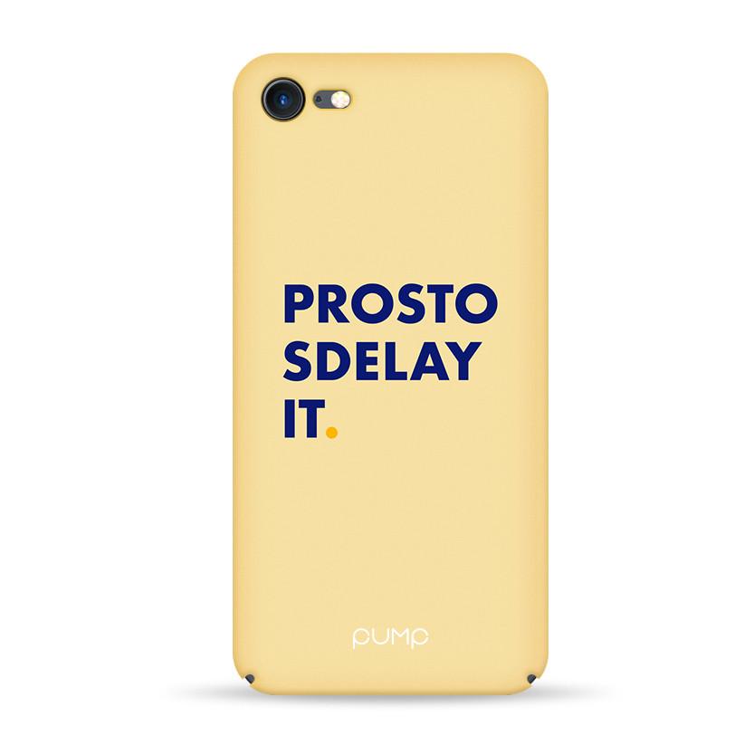 Pump Tender Touch Case чехол для iPhone 7/8 Prosto Sdelay It