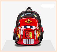 Рюкзак детский 3D Тачки Маквин на 3-5 лет.