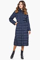 11 Kiro Tokao | Женская зимняя длинная куртка синяя