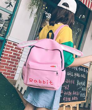Оригинальный тканевый рюкзак с ушками Кролика Rabbit, фото 2