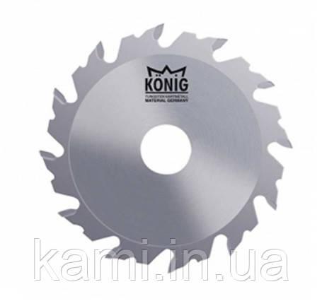 Фреза пазова Konig для фрезерування паза від 4 до 10 мм
